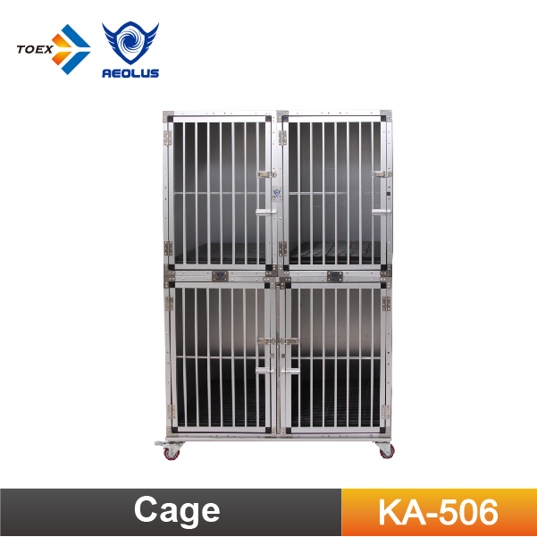KA-506 Customized Aluminum Compound Modular Dog Cage Crates Pet Kennel