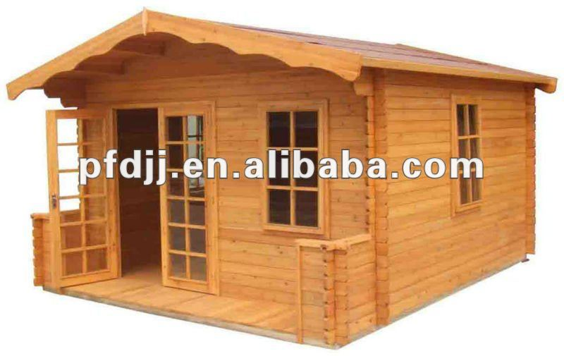 durable container simple wooden house