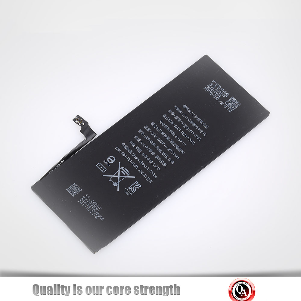 Hot sale standard battery making for mobile telephone iphone 6plus