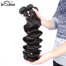 Wholesale 100 Virgin Human Hair Extension Vendor Natural Loose Wave Cheap 8A Grade