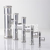 T(R) stainless steel press fittings reducing tee