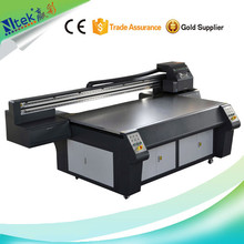 CE approved large format digital inkjet uv flatbed printer,LED seiling lampshade/metal painting printing machine for sale