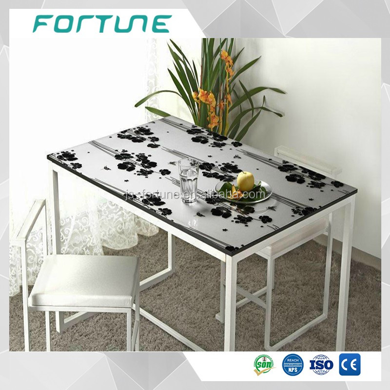 dining table cloth soft glass table cover pvc material film