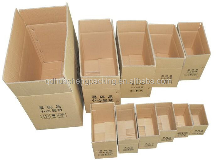 Hot-sale custom printed foldable packaging cardboard box different size carton box