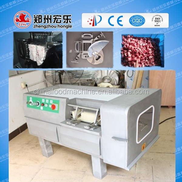 HL-350 Automatic dice meat machine/0086-13283896572