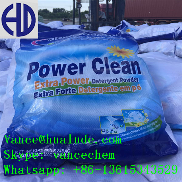 Low foam fast cleaning powder laundry detergent