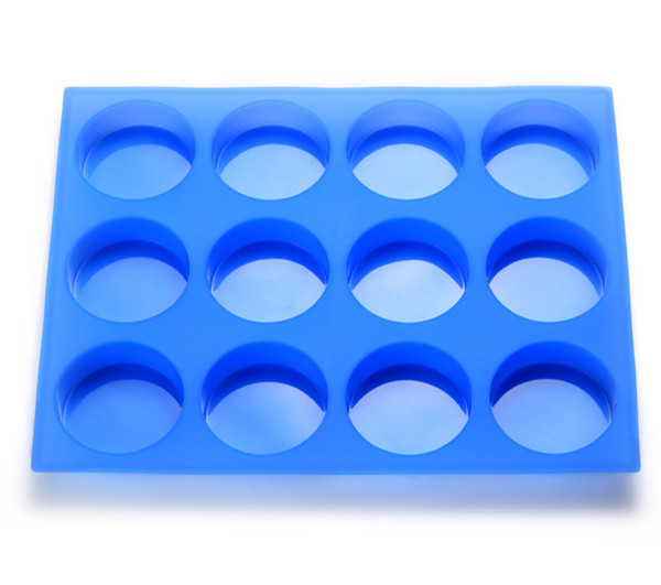 Hot Sale Homemade DIY High Quantity Round Silicone for Soap Mold