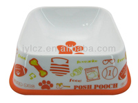 Popular product ceramic porcelain food fancy dog bowl