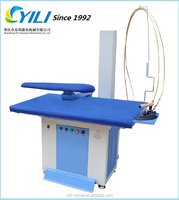 Fully automatic steam ironing table/ ironing machine with boiler for laundry and hotel
