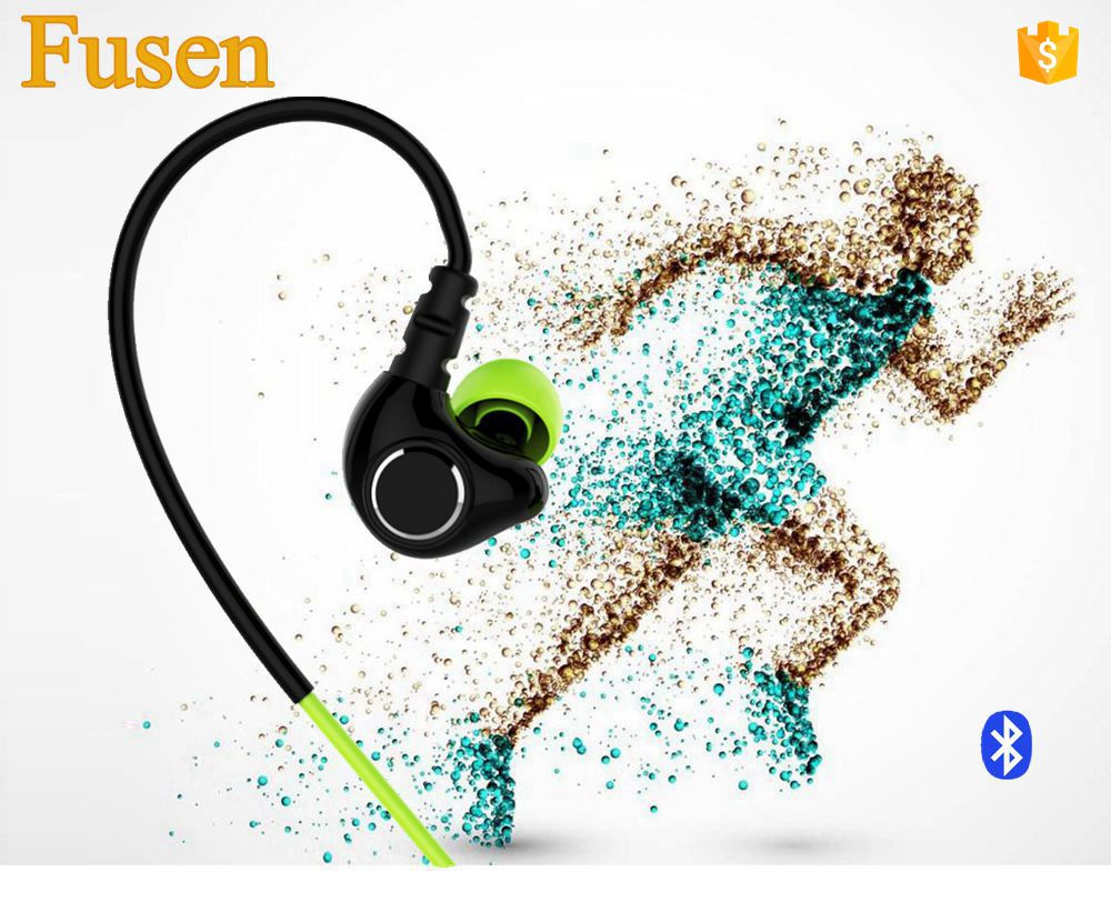 neckband noise isolating csr v4.1 wireless bluetooth headphones phone calling bluetooth sport headset