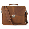 Handmade Vintage Men Crazy Horse Leather Messenger Bag Briefcase 7083