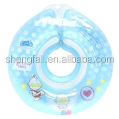 2017 cheap OEM customized pvc baby swimming neck ring