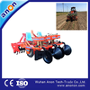 ANON tractor mouthed 4 rows riding type chili seeding transplanter for sale