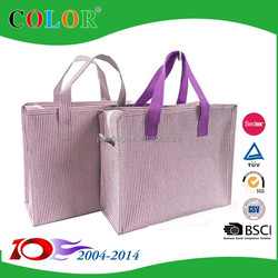 OEM Coloured Metallic shopping bag,metallic non woven bag