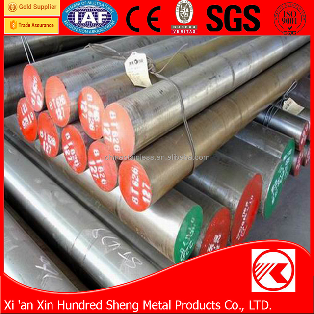 hot work forged die tool steel round bar AISI H13 material