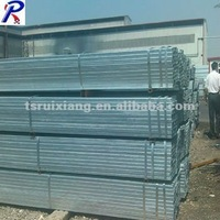znic-coated square pipe/square plastic pipe