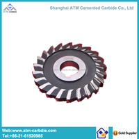 Tungsten carbide round milling cutter