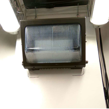 IP54 Waterproof UL CUL DLC CE Approved LED Wall Pack lights in warehouse