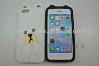 3D Lovely Cartoon Bear Soft Silicone Case Skin Cover for iPhone 5c