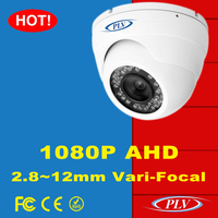 FCC CE RoHS ISO nextchip 1080P ir night vision ahd dome vari focal camera with sony sensor and Hisilicon main processor