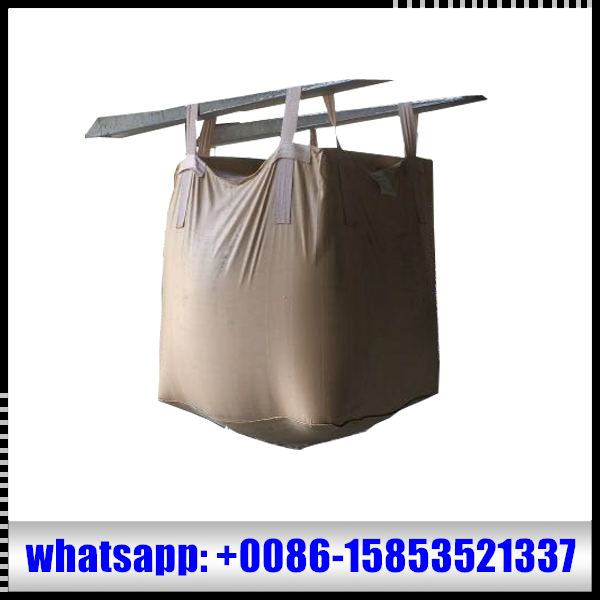 heavy duty flexible intermediate bulk container bag for construction garbage