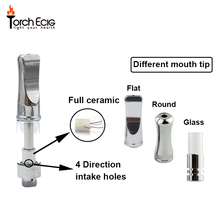 High Quality Wholesale Smoking Glass Pipe Cbd Oil Cartridge 510 Glass Globe Vaporizer