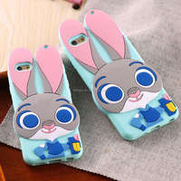 Rabbit TPU Gel Soft Mobile Phone Accessories & Parts>>Mobile Phone Bags & Cases For iPhone6 iPhone 6 6s Plus Back Cover