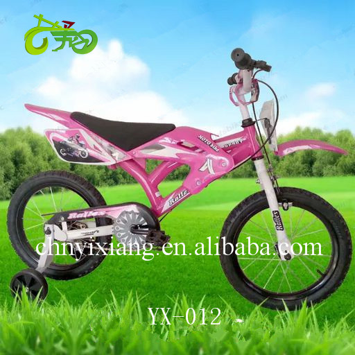 2016 hot sale mini Kids motor- bike/Children bike at factory price for boys and girls /wholesale cheap bicycle for sale