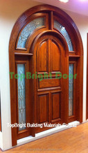 2017 latest design teak/oak soild wood doors main door designs
