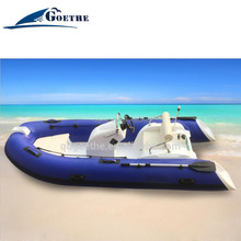 CE Certificated 390cm Fiberglass Hull Inflatable Yacht