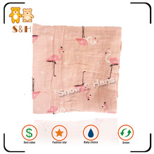 Professional factory supply soft 100% cotton muslin baby blanket