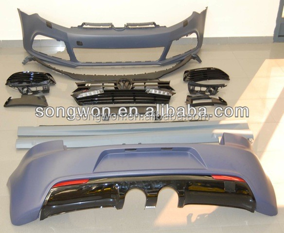 original design vw MK6 golf 6 R20 body kits