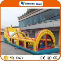 10 years factory inflatable obstacle courses/inflatble tunnel obstacle adults interesting kids inflatable bouncer obstacle