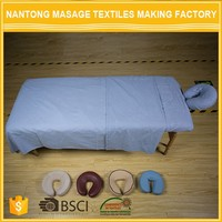 High Quality Breathable Hand Stitch Bed Massage Sheet