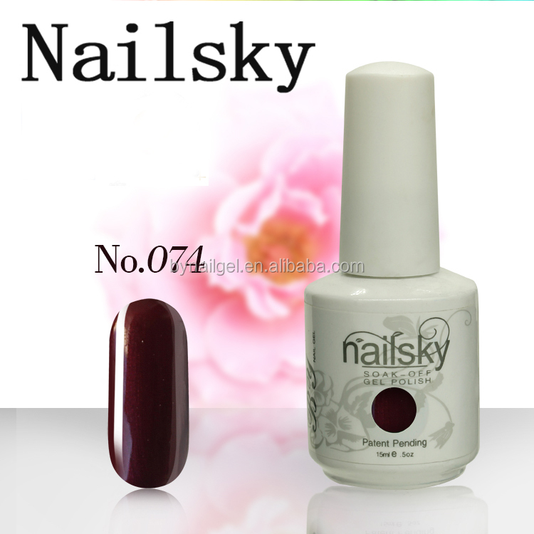 New Arrival G.E.L.I.S.H Color nail Gel Polish 15ml Soak off uv nail gel polish