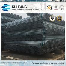 ASTM A53 B hot dipped galvanized steel pipe , GI pipes 4 inch astm a53 galvanized steel pipe tube specifications
