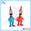 Funny Shrilling Chicken Dog Pet Toy-red and blue