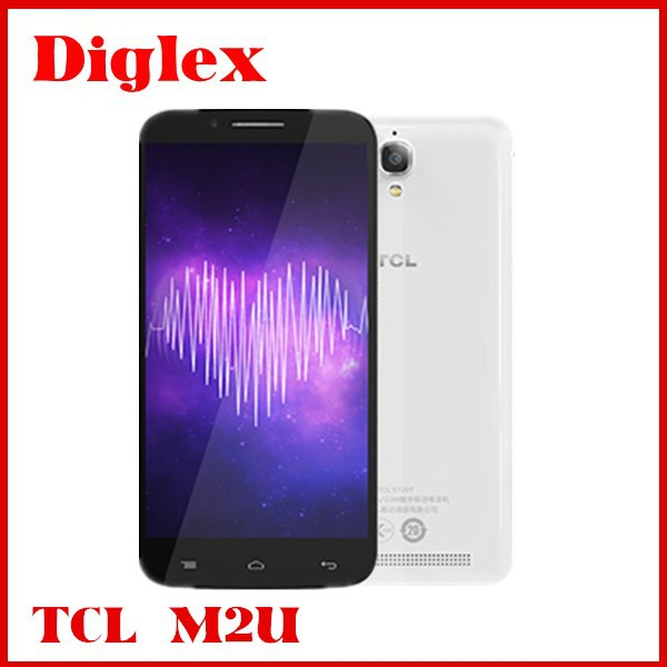 original TCL M2U 4G LTE mobile phone MTK6752M 64bit 2G RAM 16G ROM Android 4.4 Octa Core