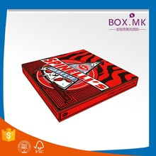 Top Sale Best Quality Cheap Square Handmade 8/9/14 Inch Custom Order Pizza Box