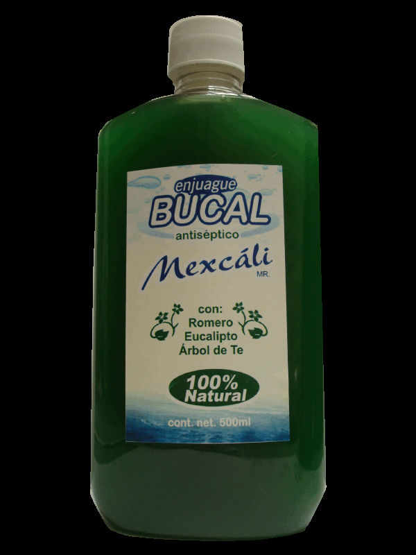 Enjuague bucal natural sin alcohol