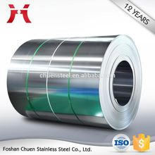 wholesale price sus 304 201 2B finish stainless strip steel coil