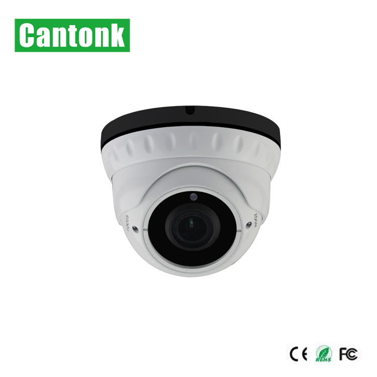 Cantonk 2mp metal housing long IR range p2p ip camera cctv system with audio