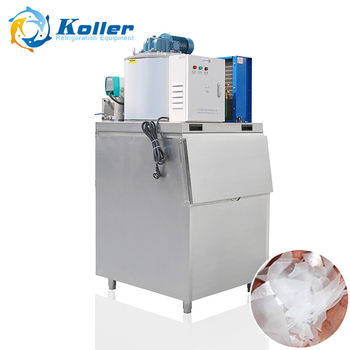 0.2ton commercial mini flake ice maker ice making machine price KP02