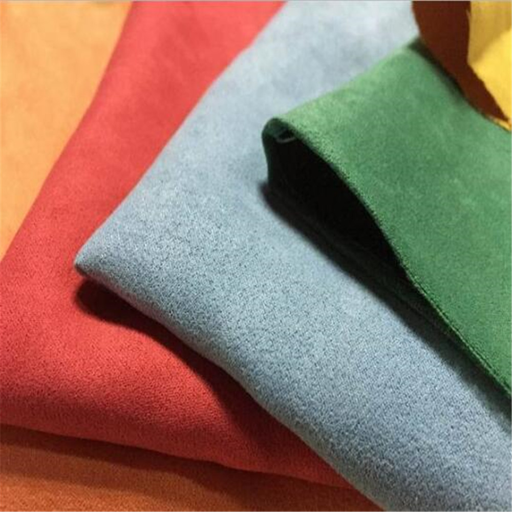 100 polyester many colours 180gsm microfiber suede fabric for shoes bag upholstery buy suede. Black Bedroom Furniture Sets. Home Design Ideas