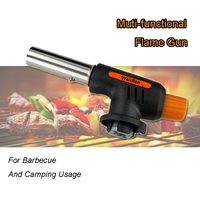(3149) Portable Small Outside BBQ Tools Fire Starter Camping Gas Torch Gun