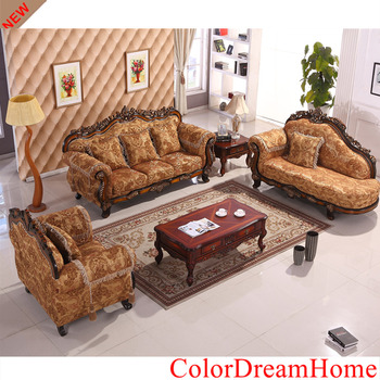 2017 best selling home furniture,Solid Wood structure cloth living room furniture set MC946