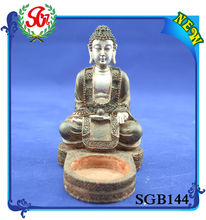 SGB144 Antique Figurine Cement Buddha