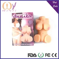 Sex Toy Girl TPE Silicone Sex Doll Huge Breast For Male