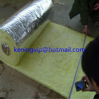 Excellent glass wool/fiber glass wool roll/glass wool blanket with Aluminium foil