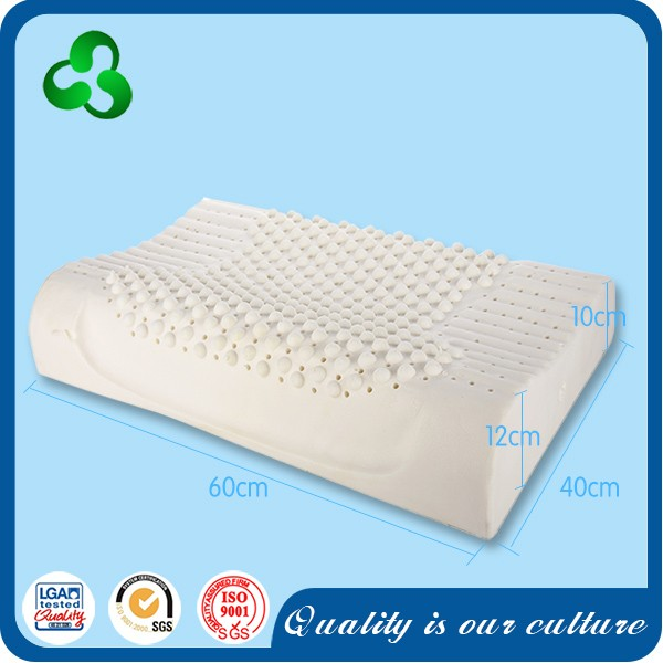 New Product adults natural latex message pillow ,from Thailand